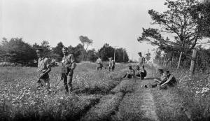 Signallers at Niagara 1916 MIKAN 3403625